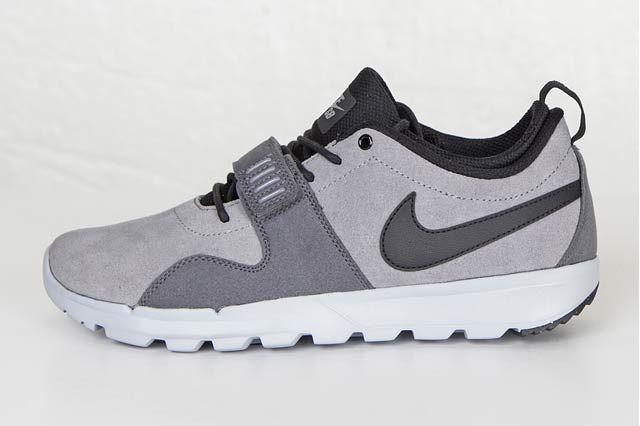 Nike Sb Trainerendor Cool Greyblackwolf Grey4