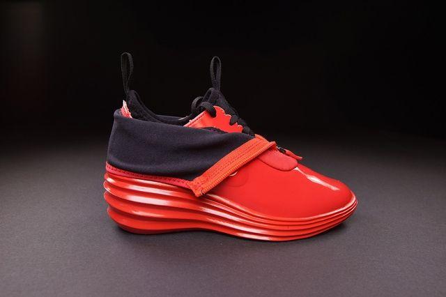 Nike Wmns Lunarelite Sky Hi Sneakerboot Action Red 4