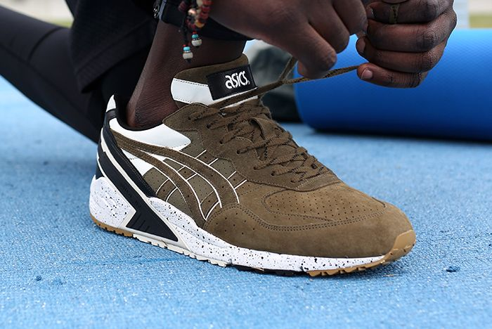 Monkey Time X Asics Gel Sight Olive Crownfeature