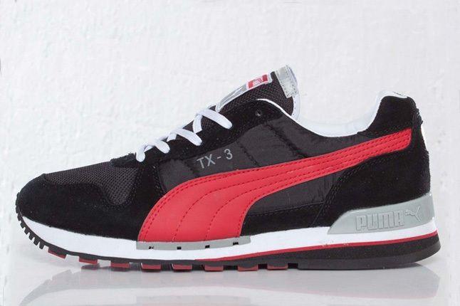 Puma Tx 3 Black Profile 1