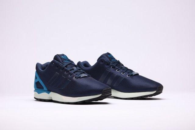 Adidas Zx Flux Dark Blue Dark Blue Hero Blue 2