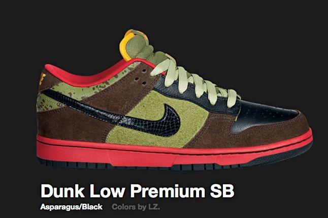 Nike Dunk Low Sb Asparagus 2009 1