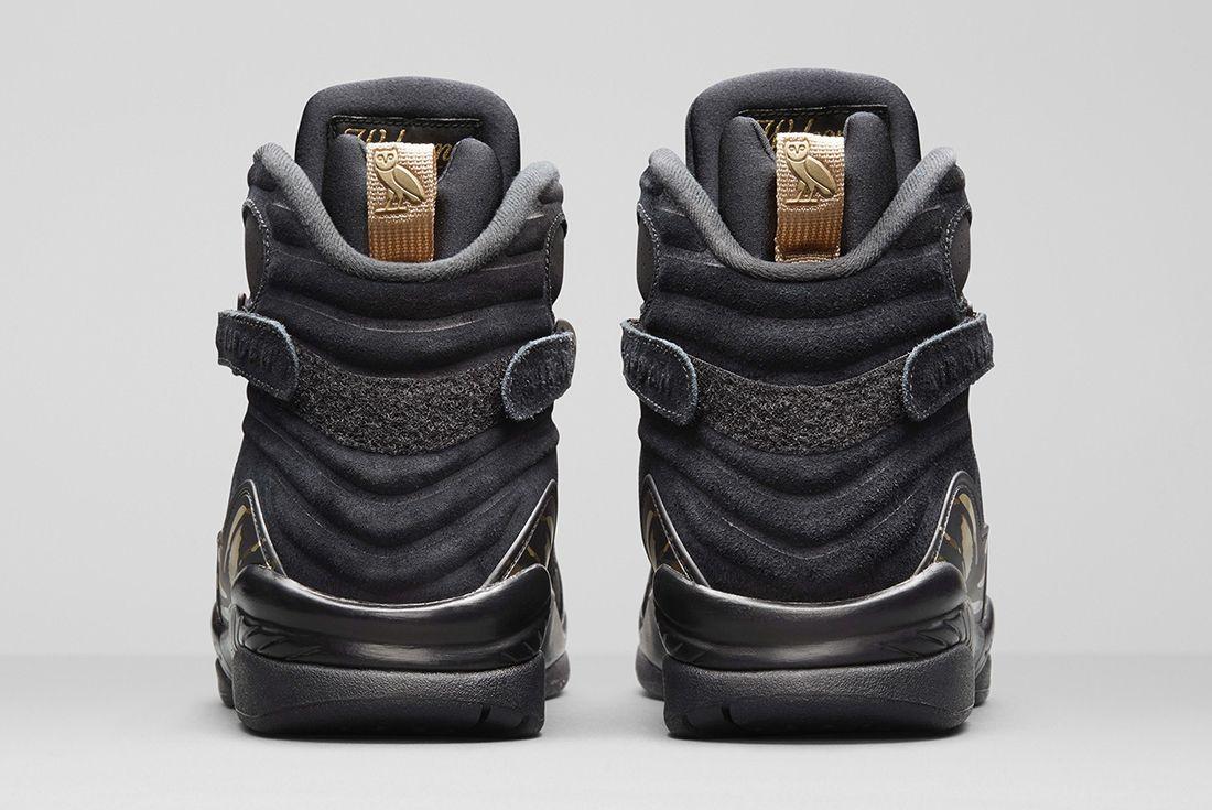 Drake X Air Jordan 8 Ovo 4