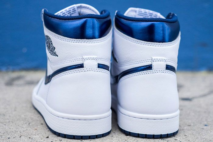 Air Jordan 1 High Og White Navy Release Details 5