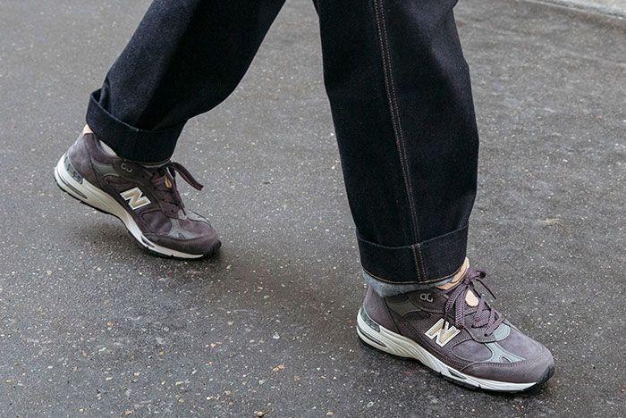 New Balance Made In Uk Season 2 991 Grey On Foot