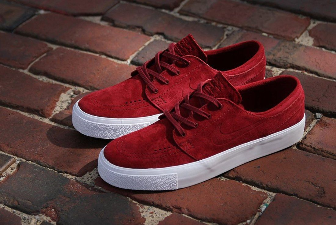 Nike Sb Zoom Janoski Premium Team Red5