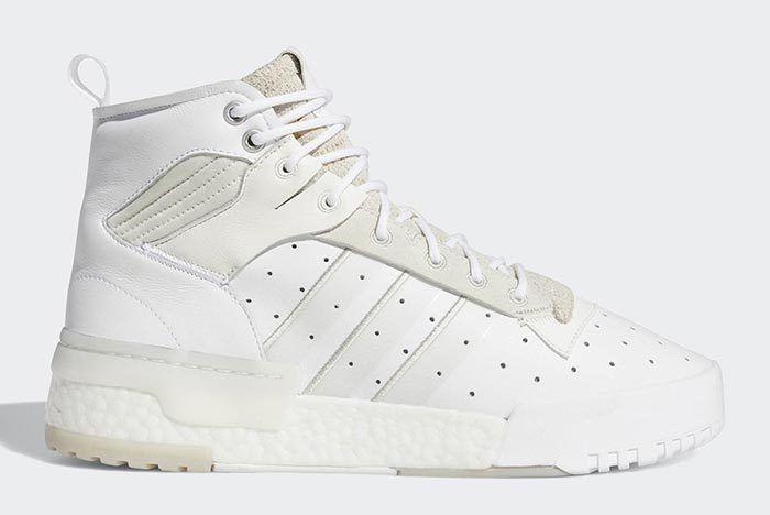 Adidas Rivalry Hi Boost White 2