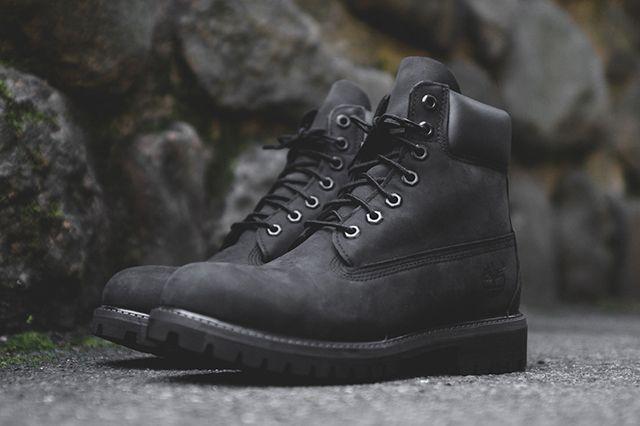 Timberland Boot Triple Black 3