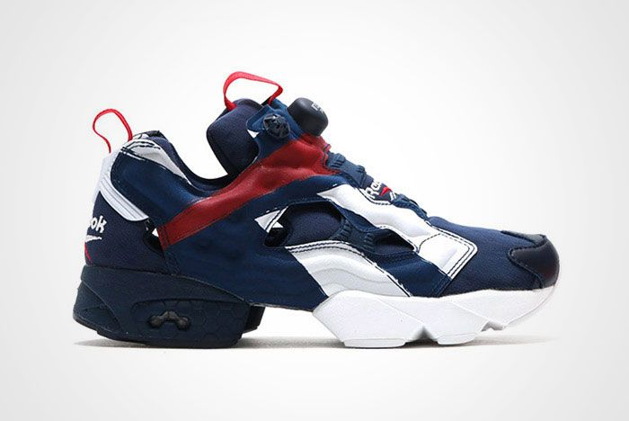 Reebok Insta Pump Fury Big Logo Red White Blue Thumb
