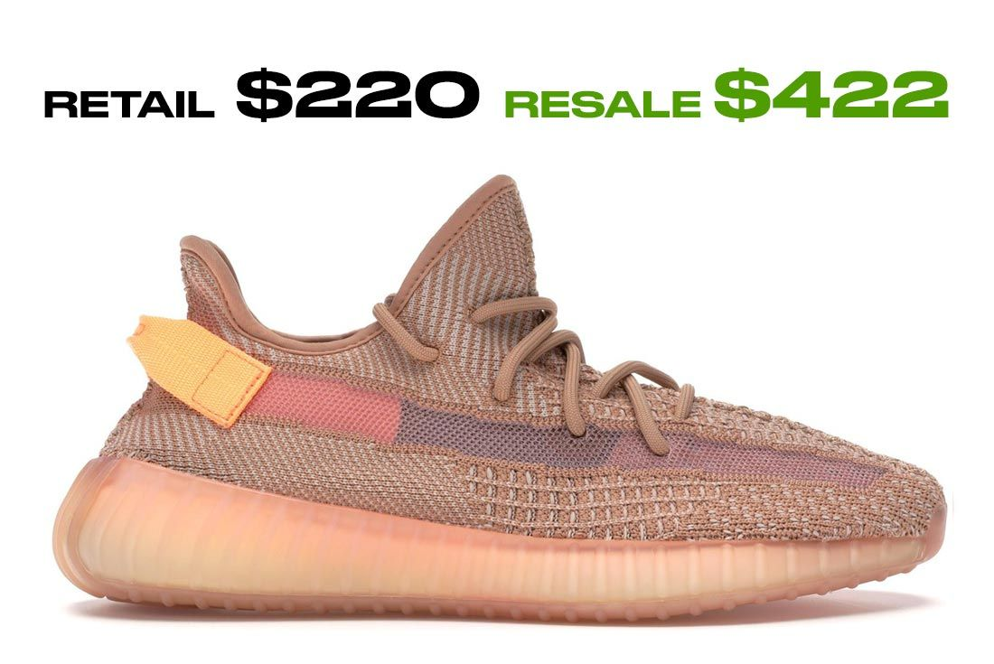 Adidas Yeezy Boost 350 V2 Clay Right Side Shot