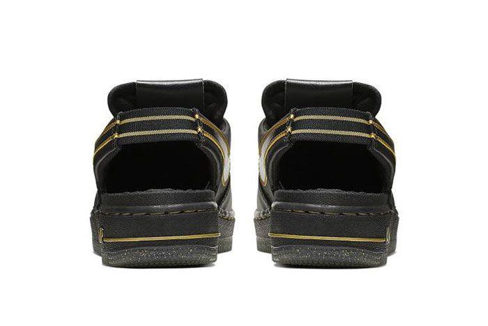 Nike Air Force 1 Vtf Black Heel