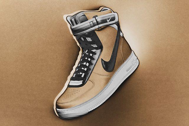 Nike Rt Air Force 1 Beige 2