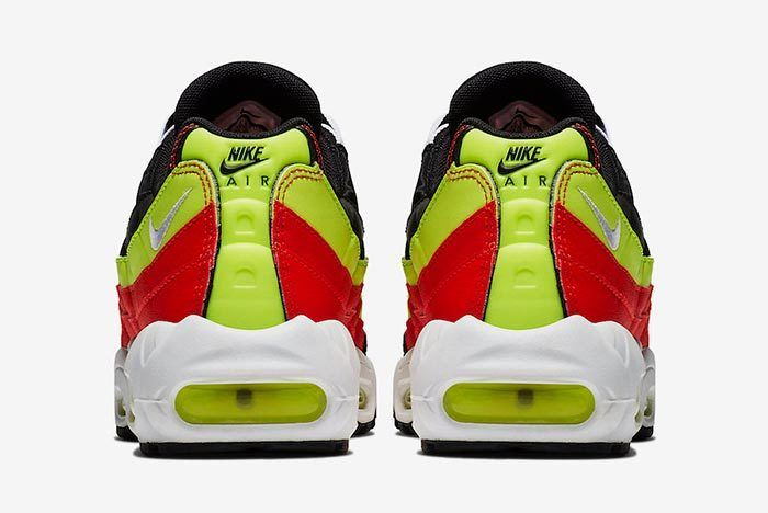 Nike Air Max 95 Black Neon Red 307960 019 3