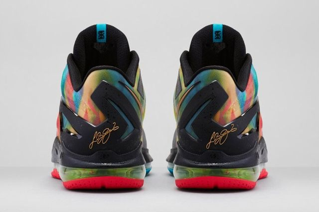 Nike Le Bron 11 Low Se Multicolor 02