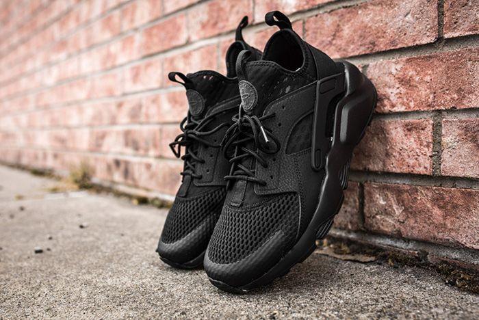 Nike Air Huarache Ultra Br Triple Black 4 2