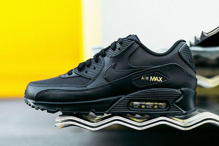 Nike Air Max 90 Black Gold Sneaker Freaker 1