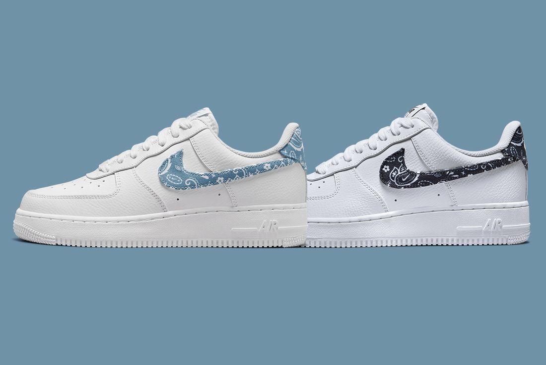 Nike Air Force 1 Paisley