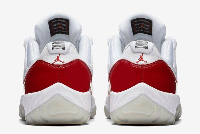 Jordan 11 Low Cherry 2