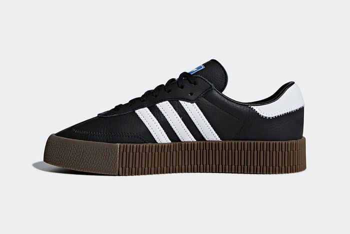 Adidas Sambarose Black 4