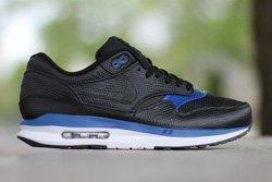 Nike Air Max Lunar1 Deluxe Black Gym Blue Thumb