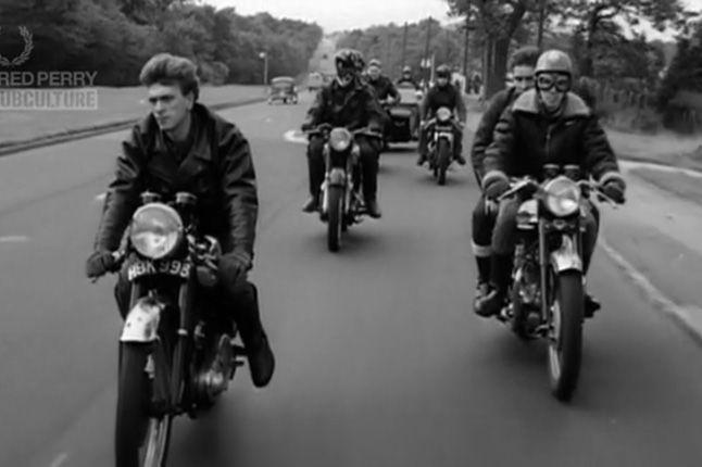 Fred Perry 60 Anniversary Bikies 1