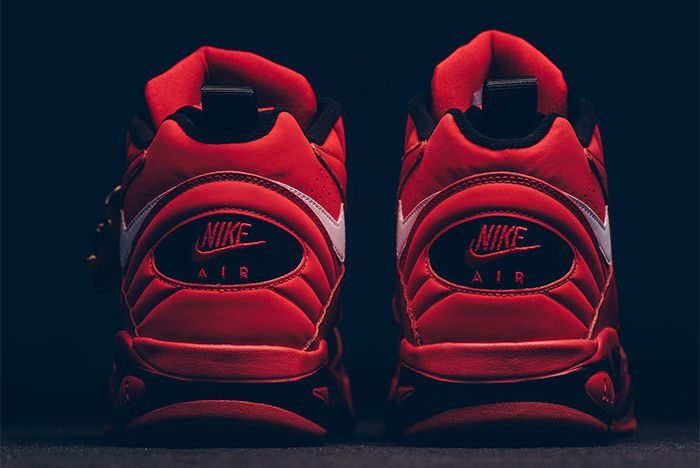 Nike Air Maestro Ii Qs University Red White Black Aj9281 600 2