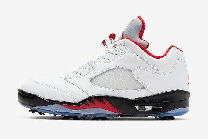 Air Jordan 5 Low Golf Fire Red Cu4523 100 Release Date Price Official