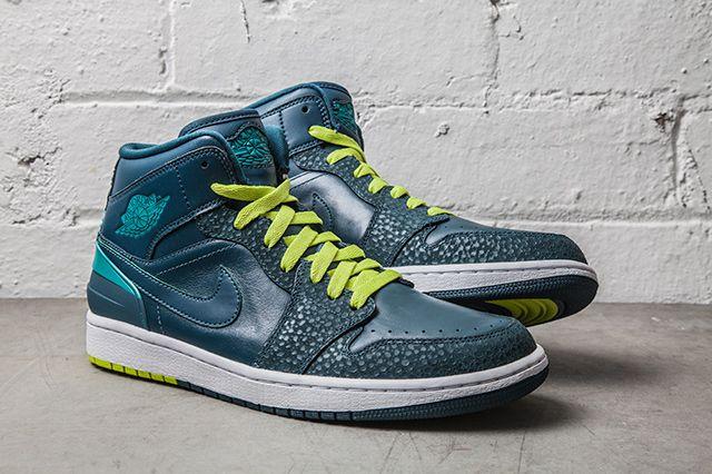 Nike Air Jordan 1 Retro 86 Lush Teal Safari 2