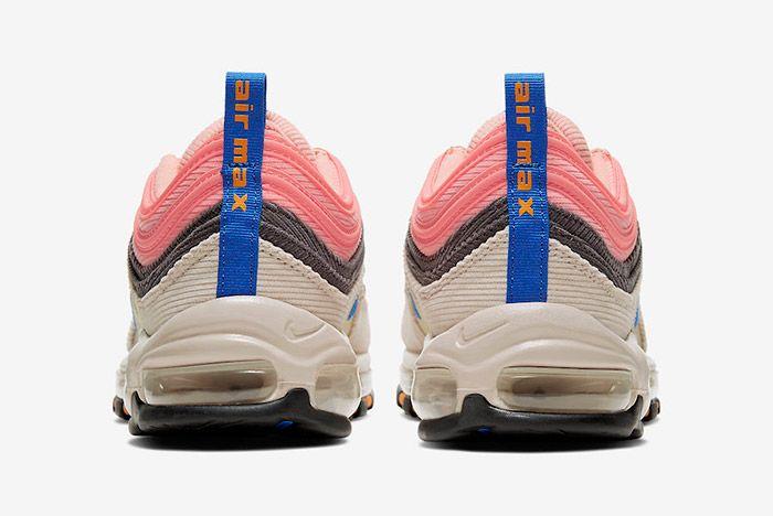 Nike Air Max 97 Corduroy Cq7512 046 Heel