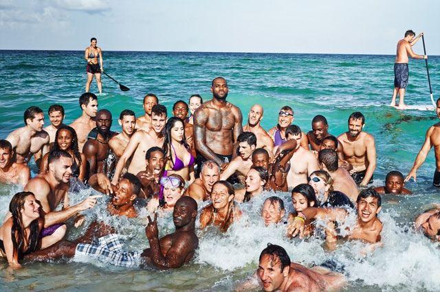 Nike Basketball Lebron James Training Day Campaign 4