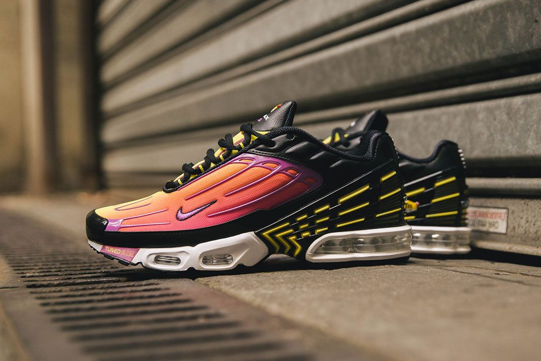 Nike Air Max Plus Iii Hyper Purple Up There Sneaker Freaker Up Close8