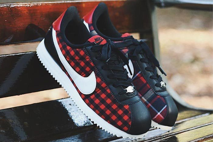 Nike Cortez Plaid 1