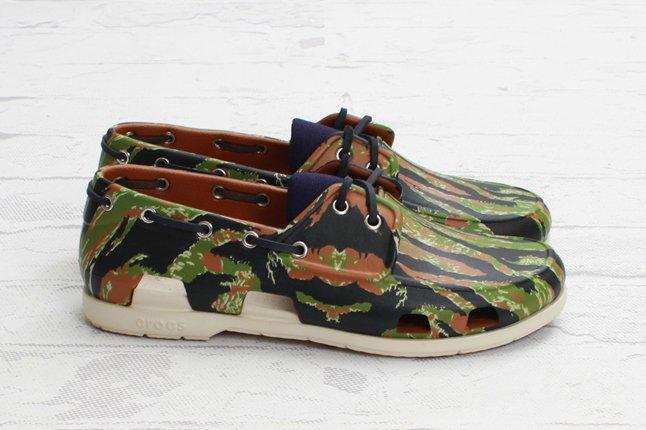 Crocs Elite Camo Boat Shoe Profile 1