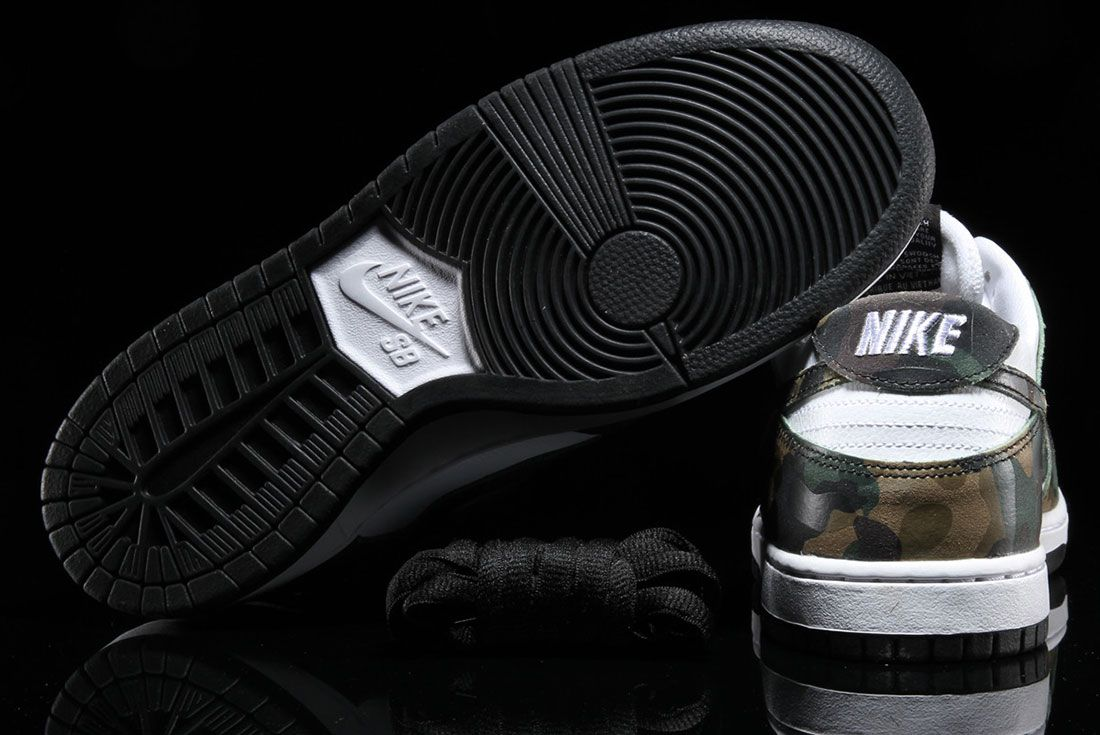 Nike Sb Dunk Low Pro Camo 2