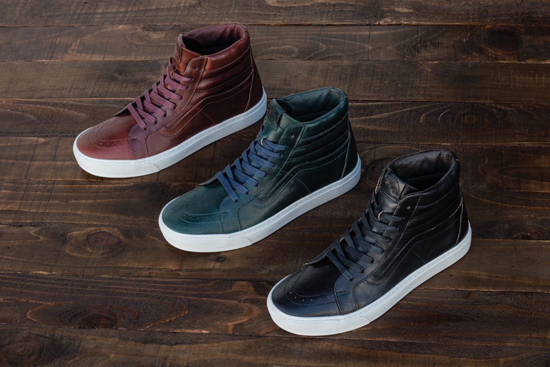 Horween Leather X Vans Vault Collection13