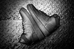 Nike Air Force 1 Black Black Thumb