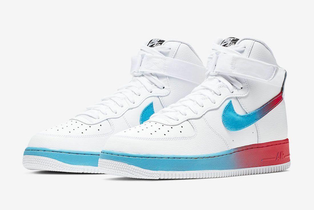 Nike Air Force 1 Neon Seoul Toe
