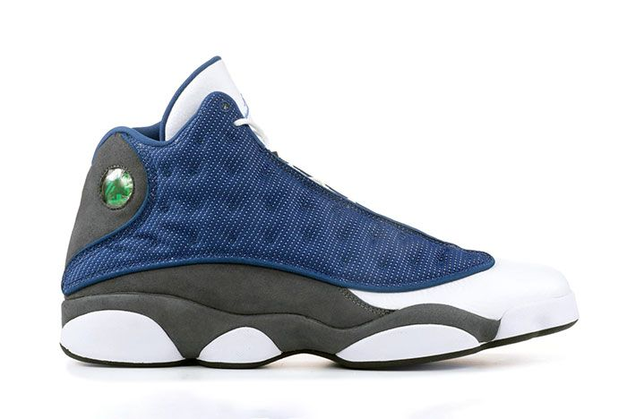 Air Jordan 13 Flint Grey Side