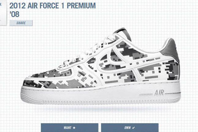 1Thology Leaderboard Air Force 1 Digi Nike 1