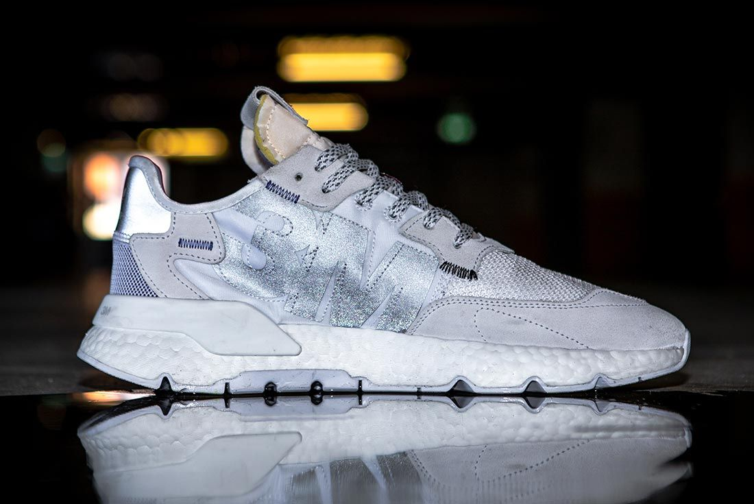Nite Jogger Off Foot White Right Side