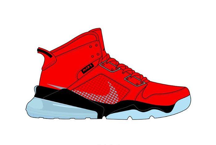 Jordan Mars 270 Red Py Rates