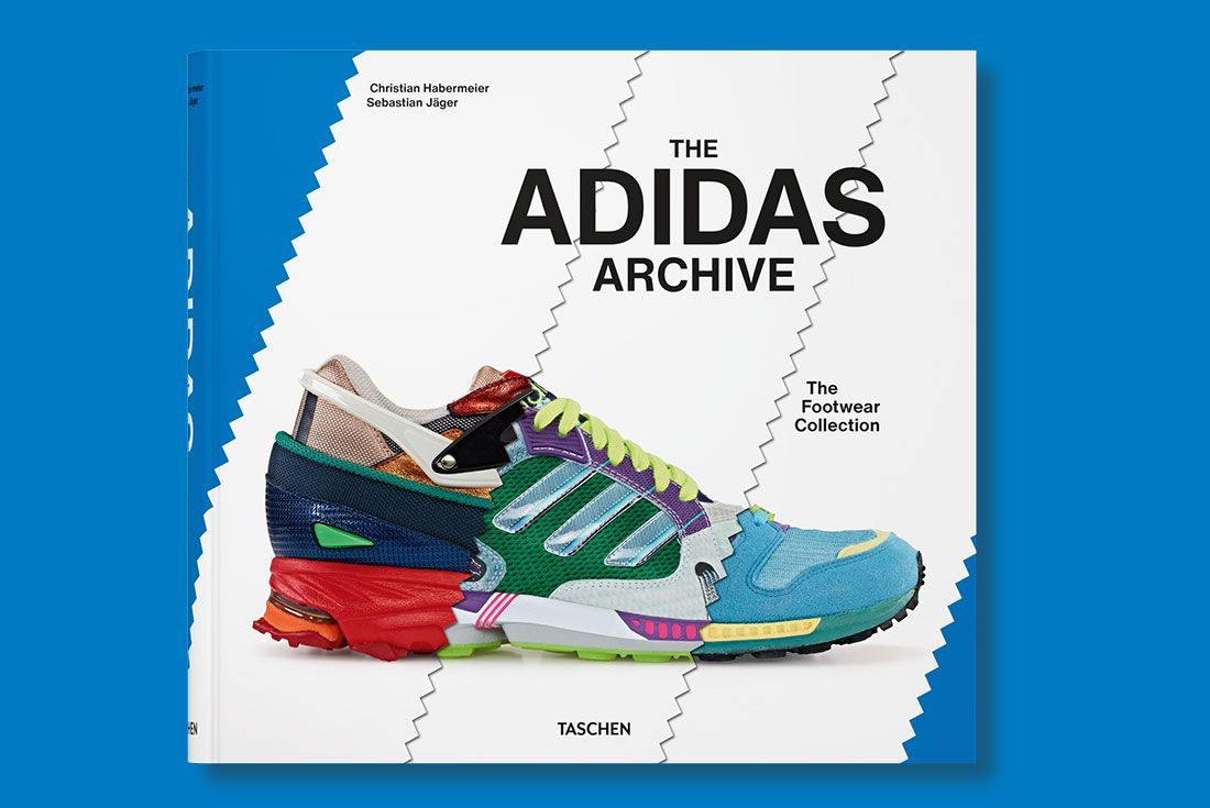 TASCHEN The adidas Archive Book Cover