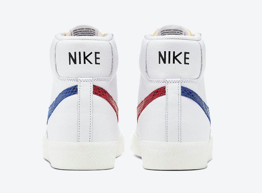 Nike Blazer Snakeskin Swoosh Heel