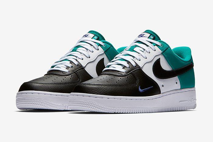 Nike Air Force 1 Mini Swoosh Neptune Green5