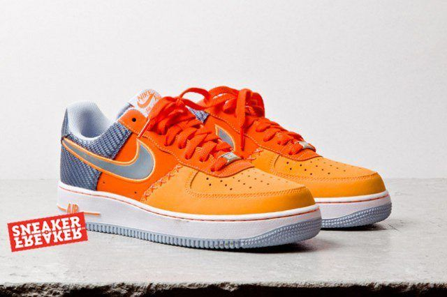 Nike Air Force 1 Low Team Orange Total Orange 3