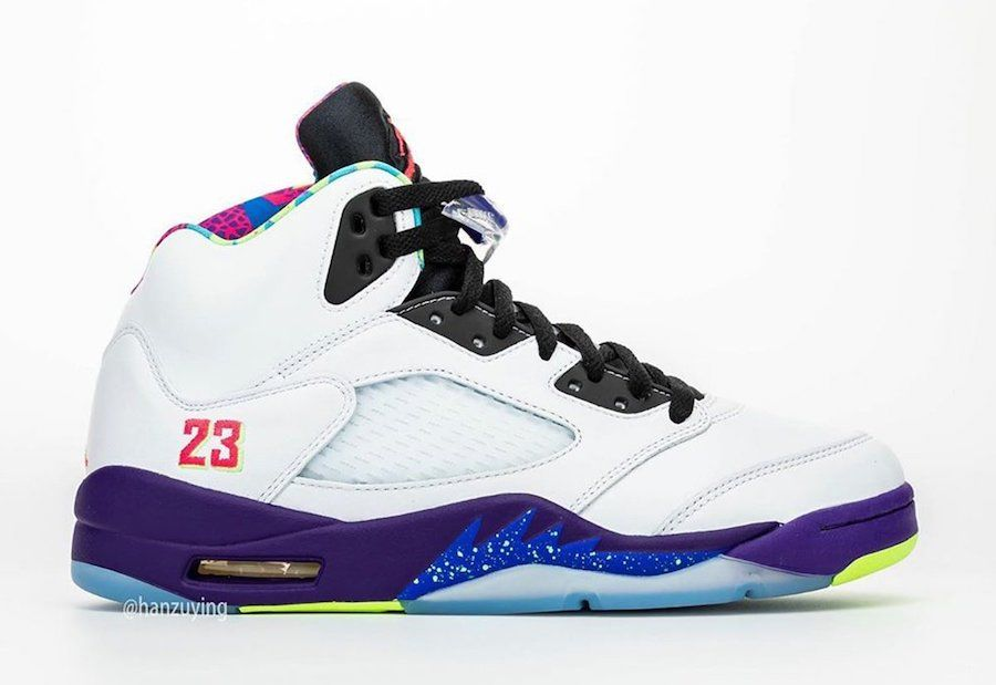 Air Jordan 5 Alternate Bel-Air Right