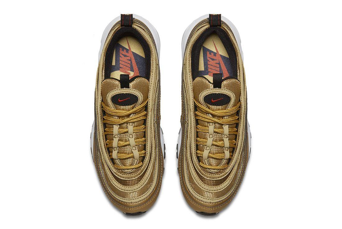 Nike Air Max 97 Metallic Gold 2017 Retro 5