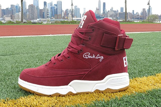 Ewing Athletics 33 Hi Burgundy 6