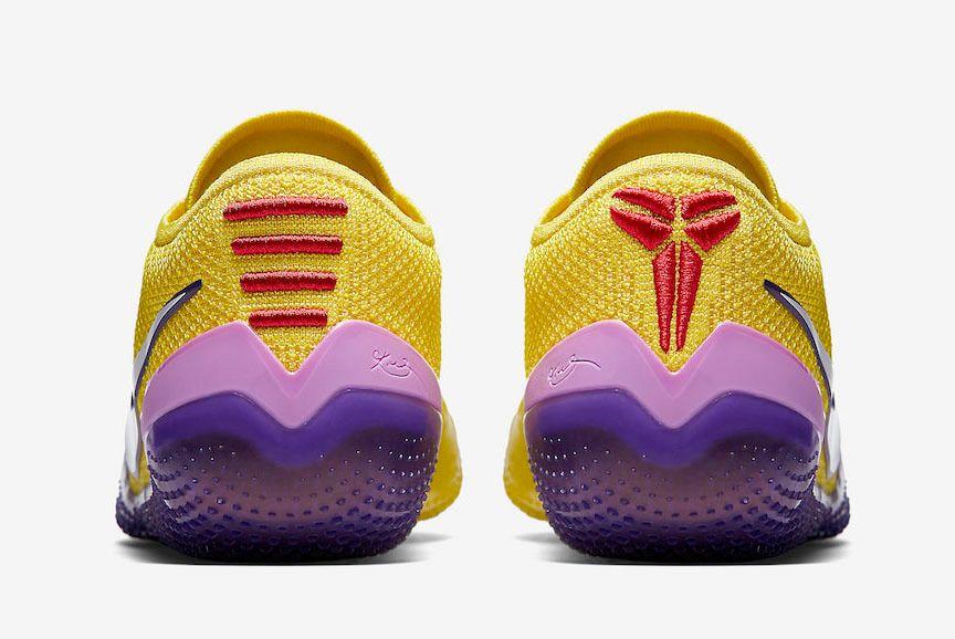Nike Kobe Ad Nxt 360 Yellow Strike Lakers Aq1087 700 Heel Sneaker Freaker