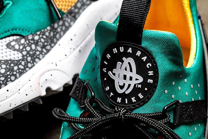 Nike Huarache Utility Prm Safari Emerald 3